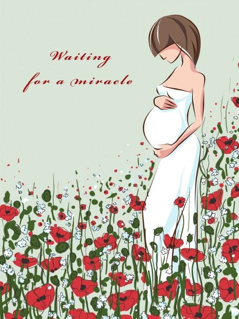 Открытки с днем рождения беременной женщине красивые