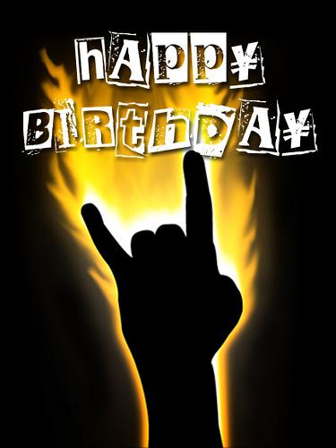 Поздравления с днем рождения в стиле рок картинки, дракона днем