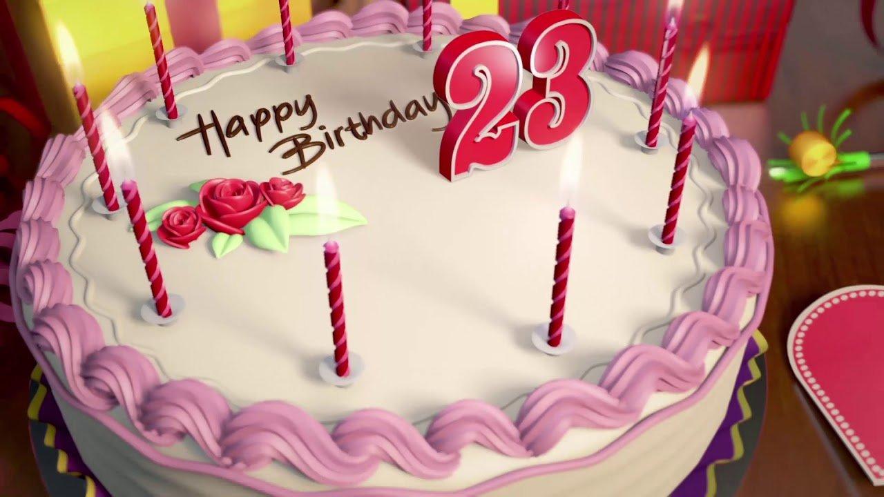 Стихи в день рождения на 23 года девушке